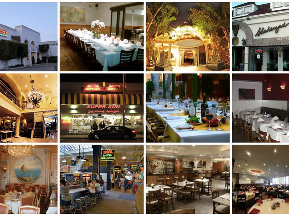 Party Like A Persian At La S Best Iranian Restaurants Eater La