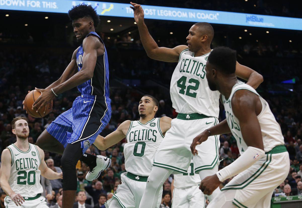 Orlando Magic Vs Boston Celtics At TD Garden