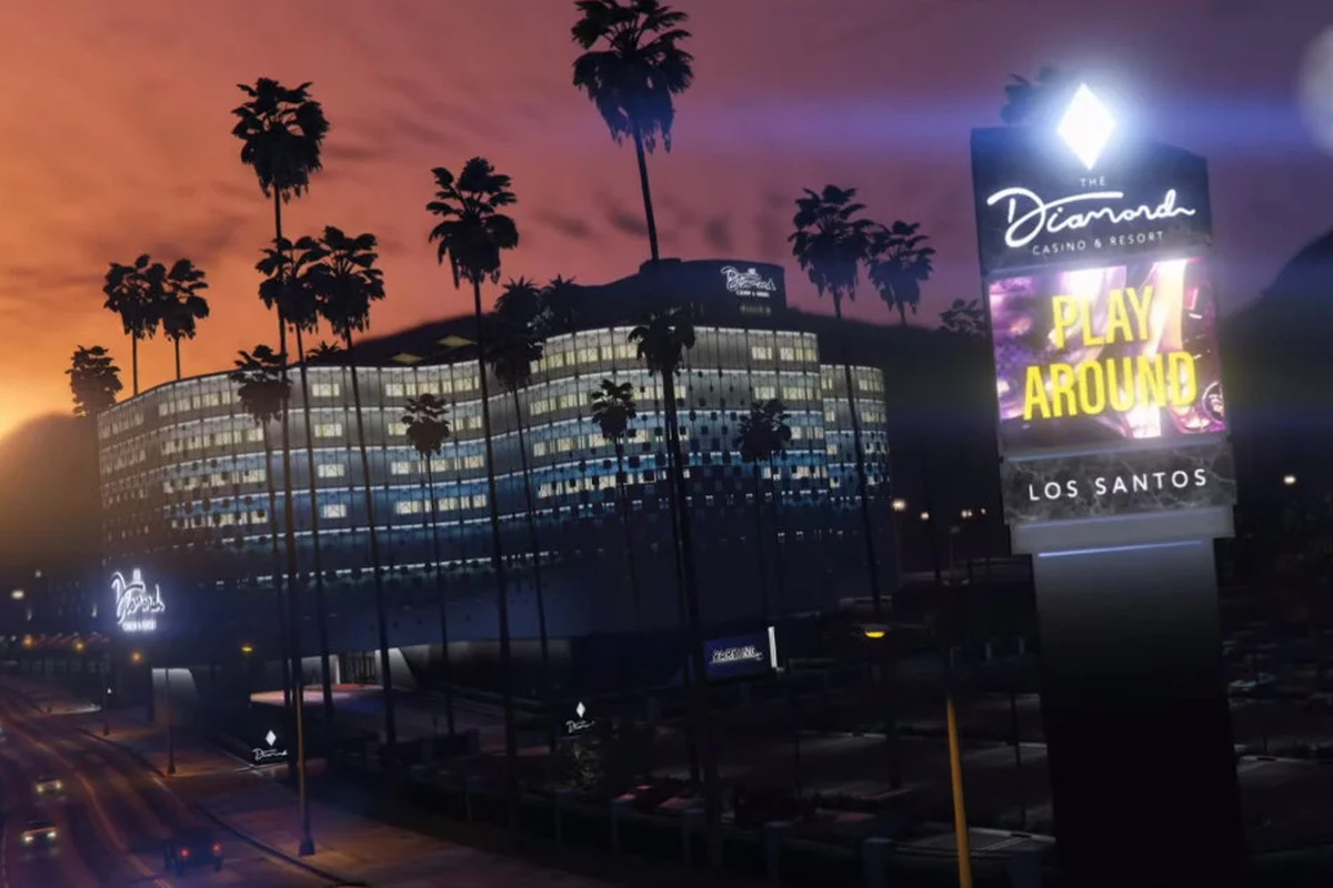 Gta Online Gets A Brand New Casino Heist And Arcade Business Polygon