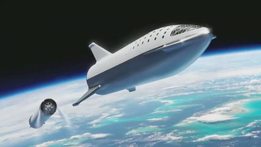 Elon Musk reveals updated design for future SpaceX Mars rocket - The VergeThe Verge