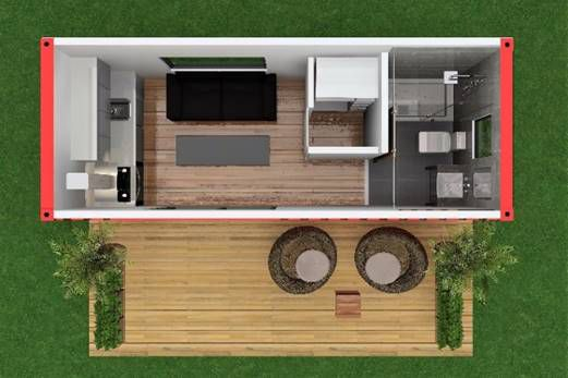 Shipping container house wants $55K for 160 square feet of ... on green roof structure design, single container interior design, container construction, container architecture design, container home, kerala home plans and design, shipping container design, container box houses, steel container design, container buildings design, small 16x20 homes design, big boom design, container cabin design, storage container design, container cafe design, container store design, container restaurant design, container shop design, prefab warehouse design, container studio design,