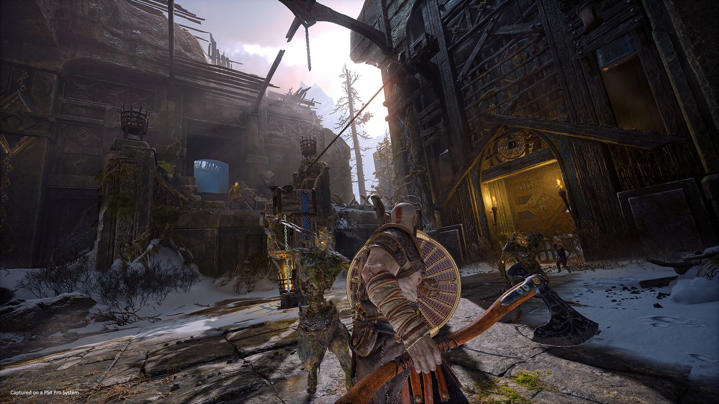 God of War PS4 preview: Hands-on with the spectacular first three