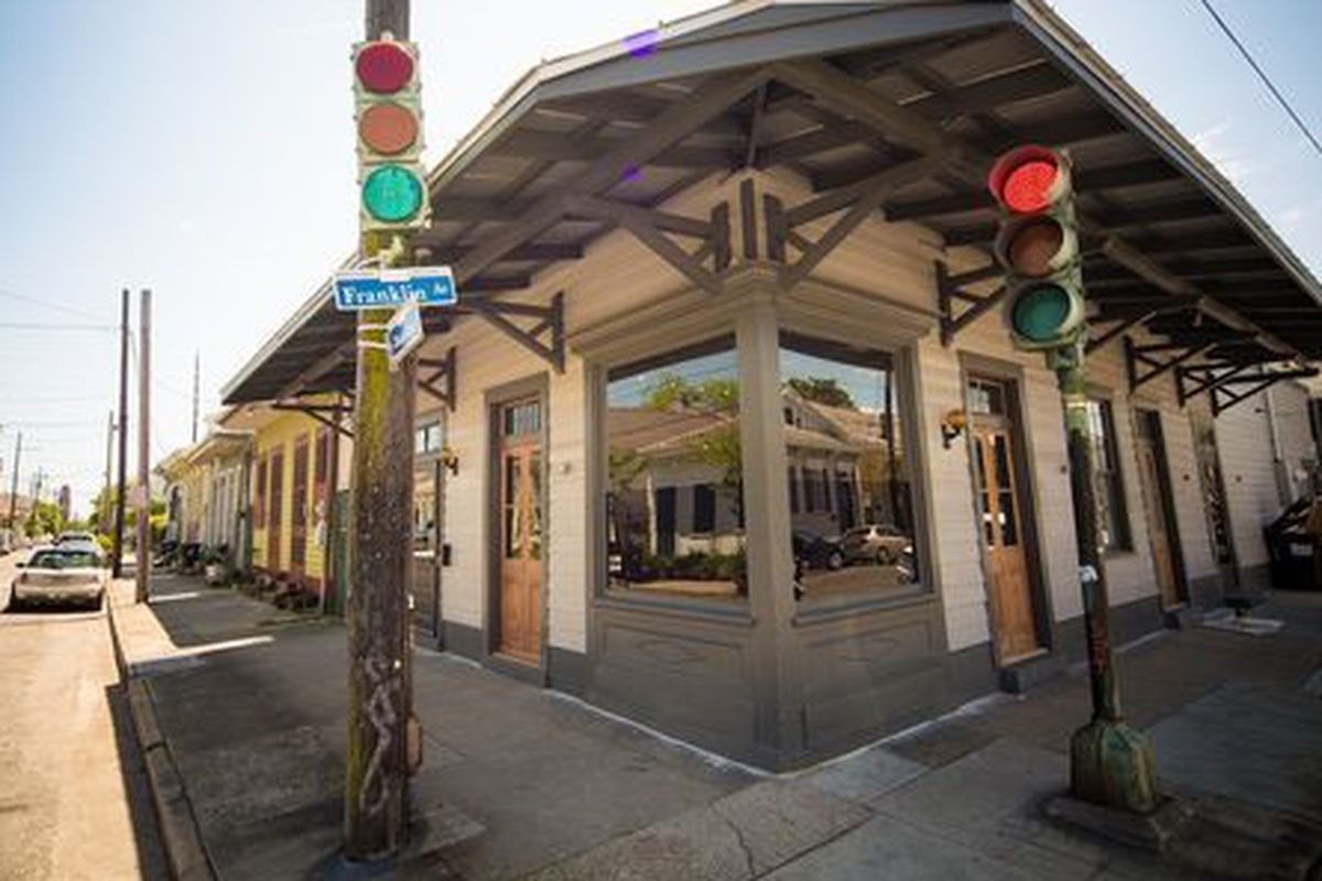 The Franklin, now open in the Marigny