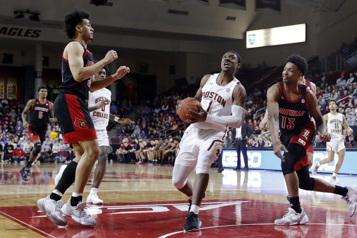 COLLEGE BASKETBALL: JAN 29 Louisville at Boston College