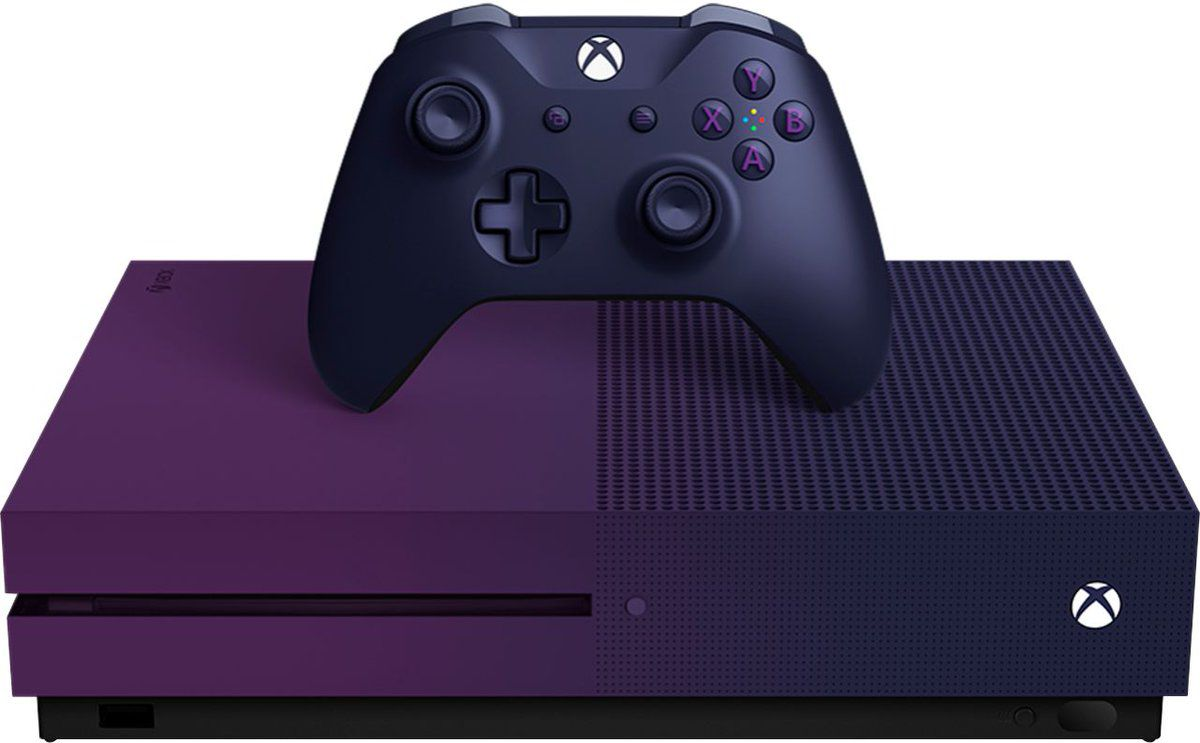 Leaked images reveal Microsoft's purple Xbox One S for