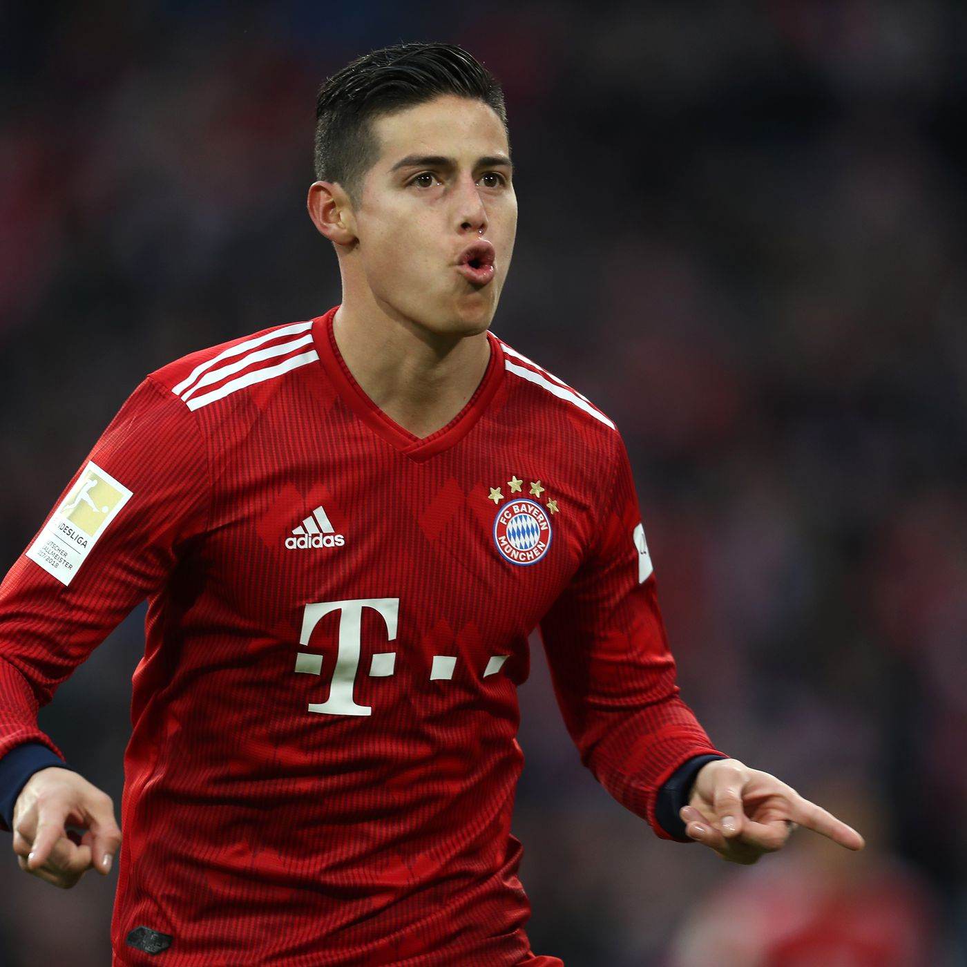 James Rodriguez says thank you and goodbye to Bayern Munich ...