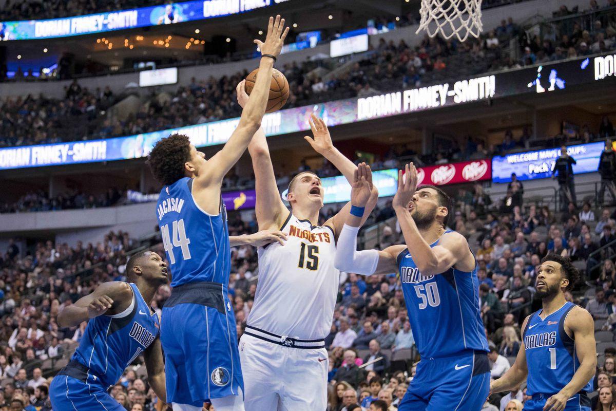 NBA: Denver Nuggets at Dallas Mavericks
