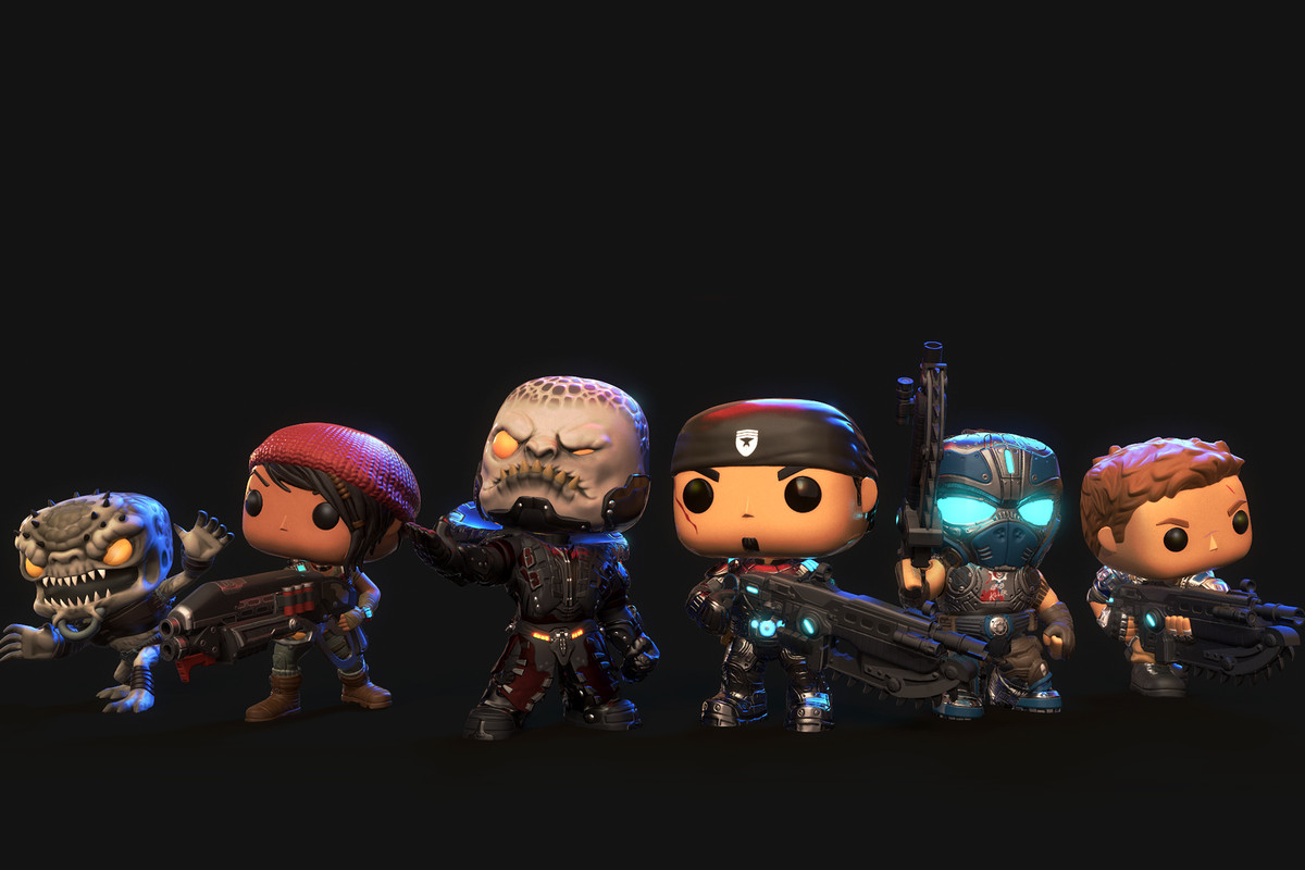 gears of war meets funko pop in new mobile game polygon