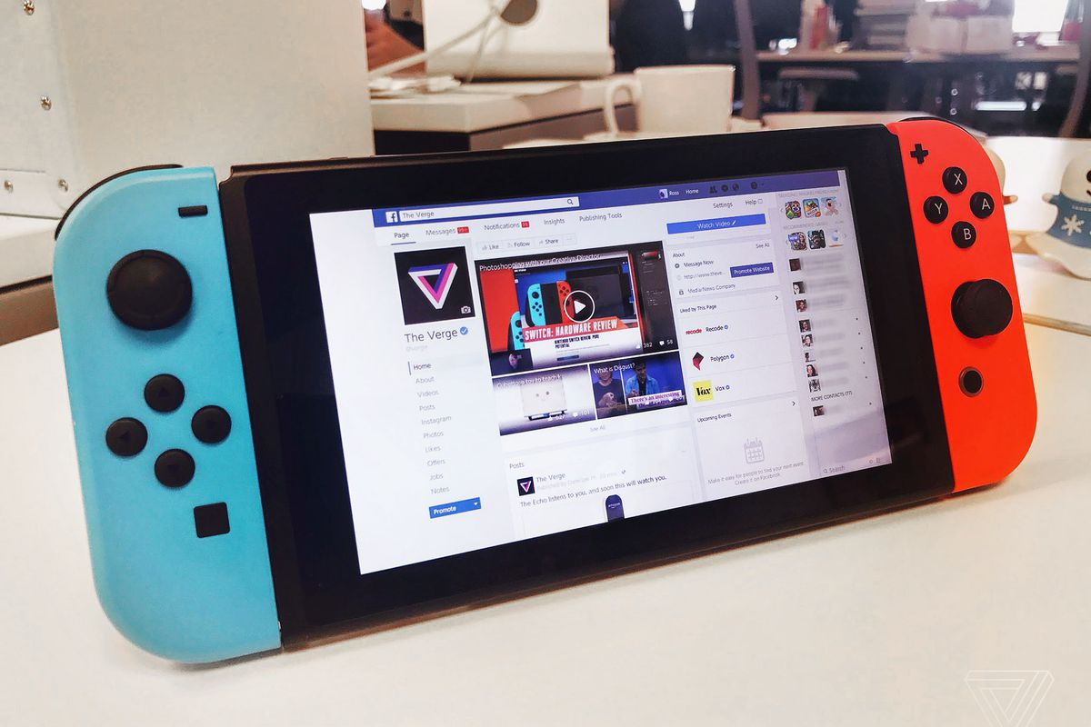The Nintendo Switch has a secret browser, but you can't use
