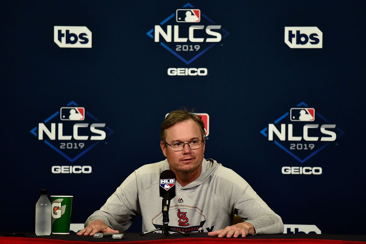 It is not Mike Shildt's Fault