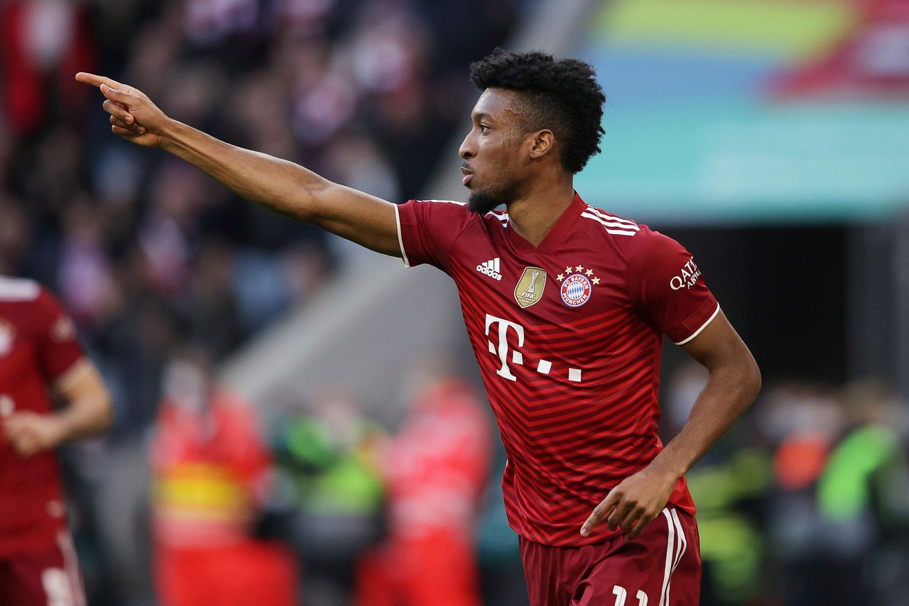Report: Bayern Munich to sell Kingsley Coman in summer; eyeing Karim Adeyemi or Antony as replacement