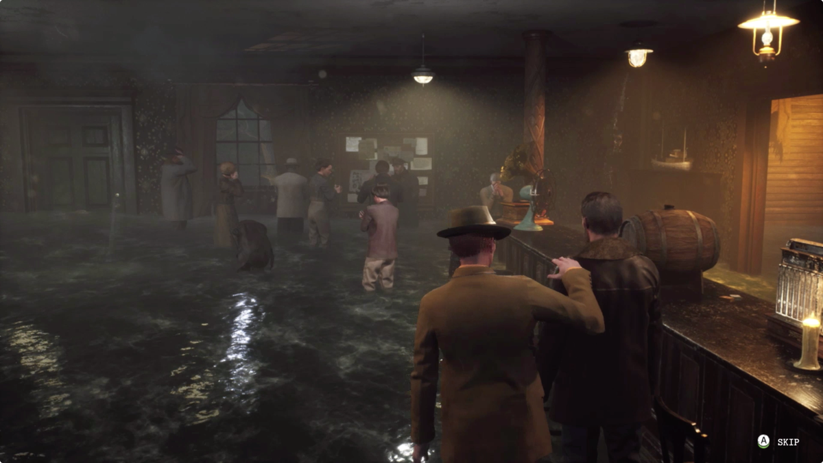 The Sinking City no choice ending