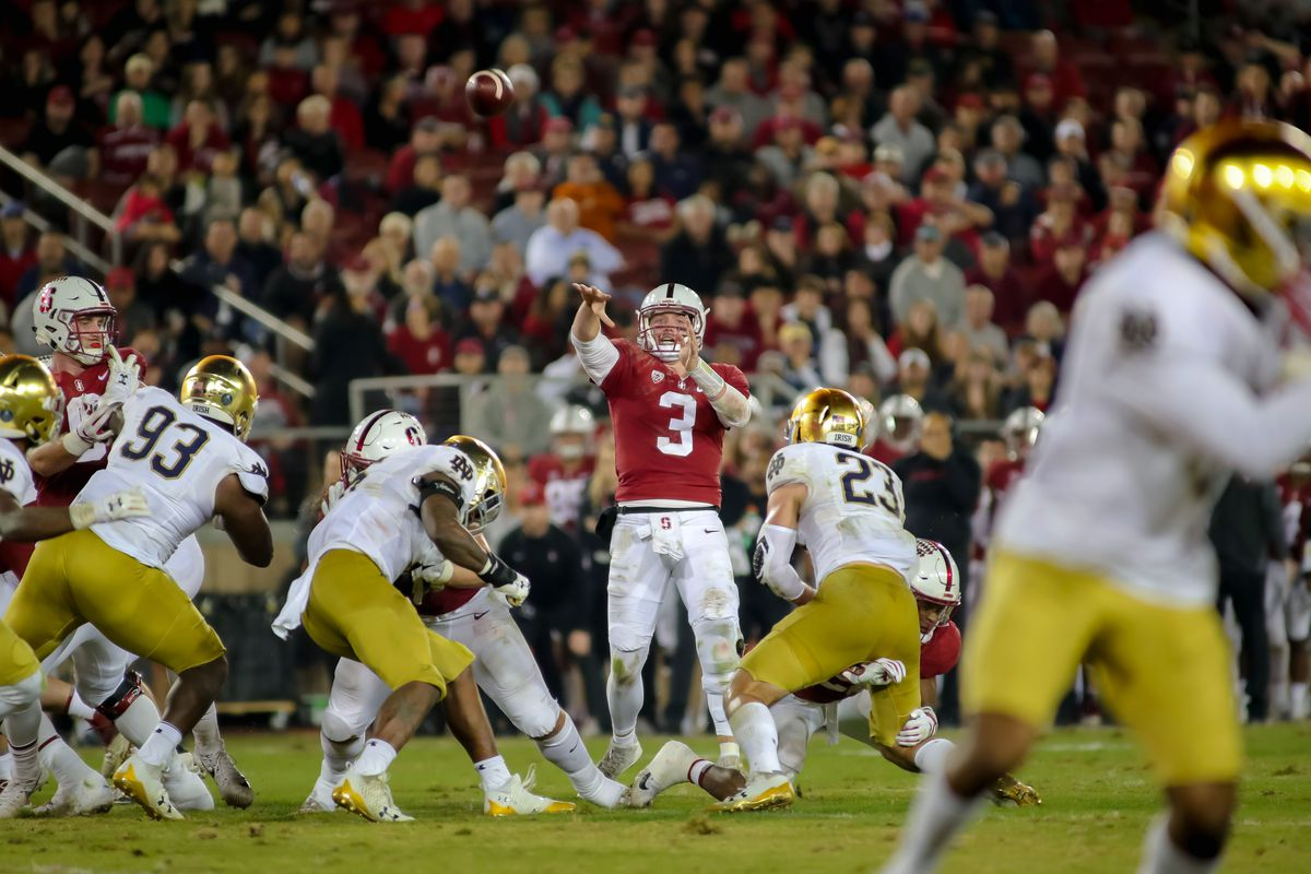 NCAA Football: Notre Dame at Stanford
