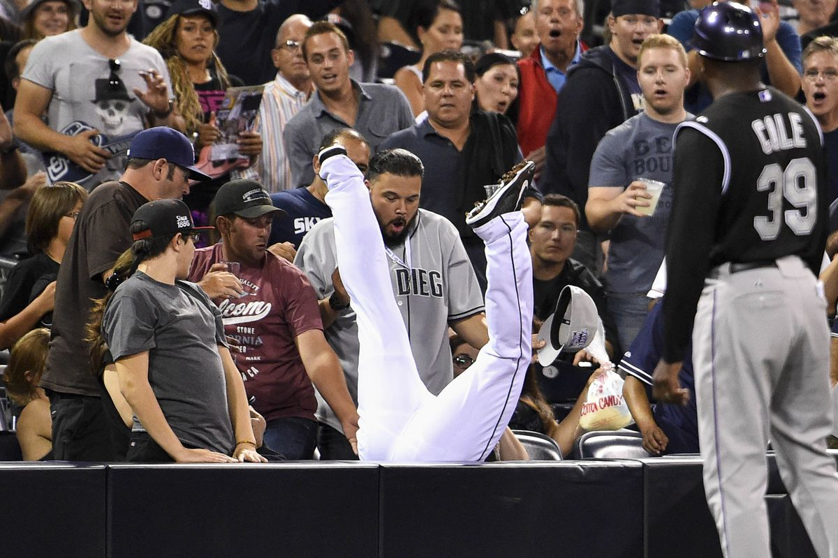 Time to play the game: Pick your favorite reaction from the crowd.