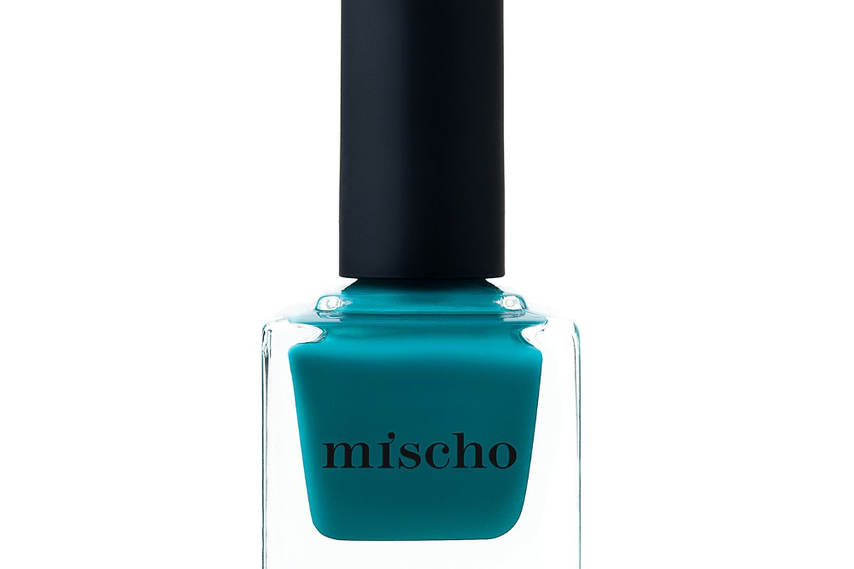 """Mischo Beauty Nail Lacquer in Empire State of Mind<a href=""""http://www.mischobeauty.com/collections/all"""">$18</a>"""