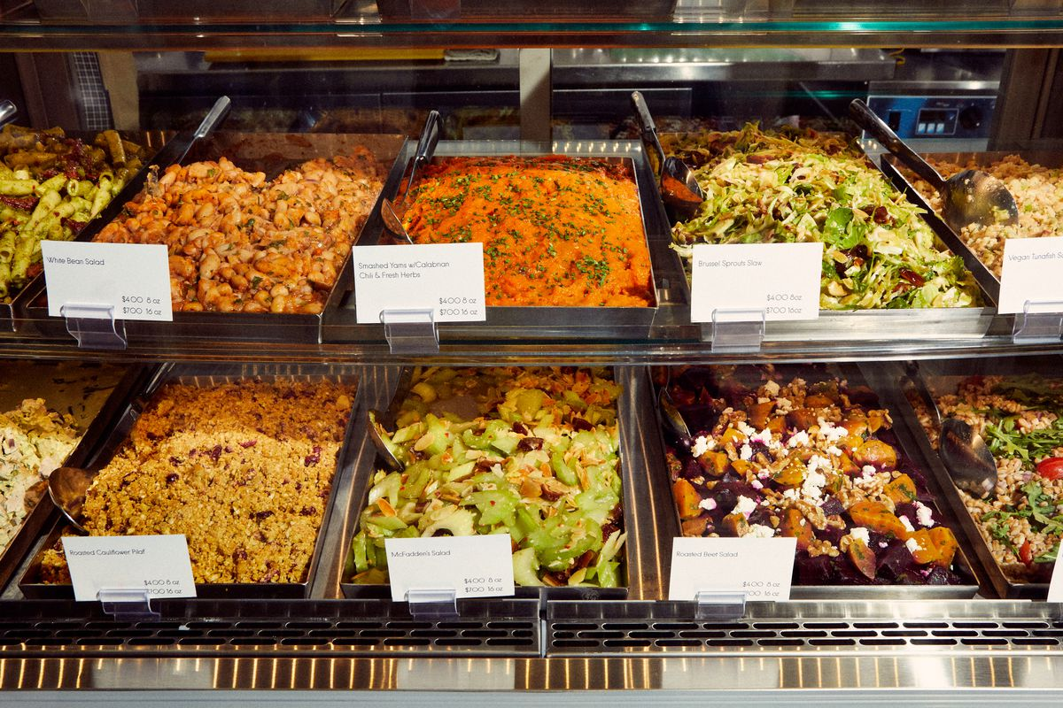 The deli offerings at Tiny Grocer