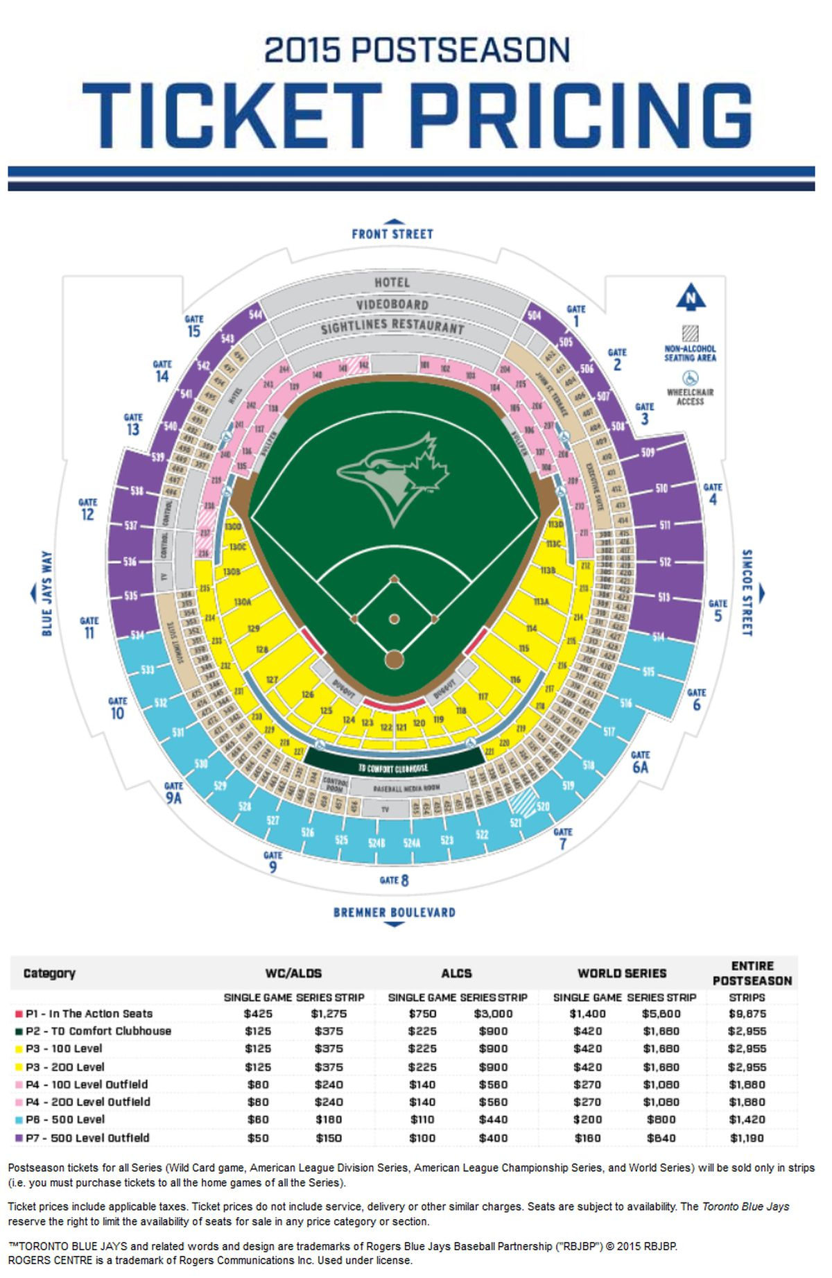 2015 Blue Jays Postseason Tickets Will Cost You A Wee Bit