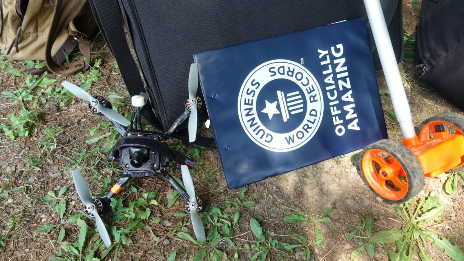 New drone claims Guinness World record with a top speed of 163 mph