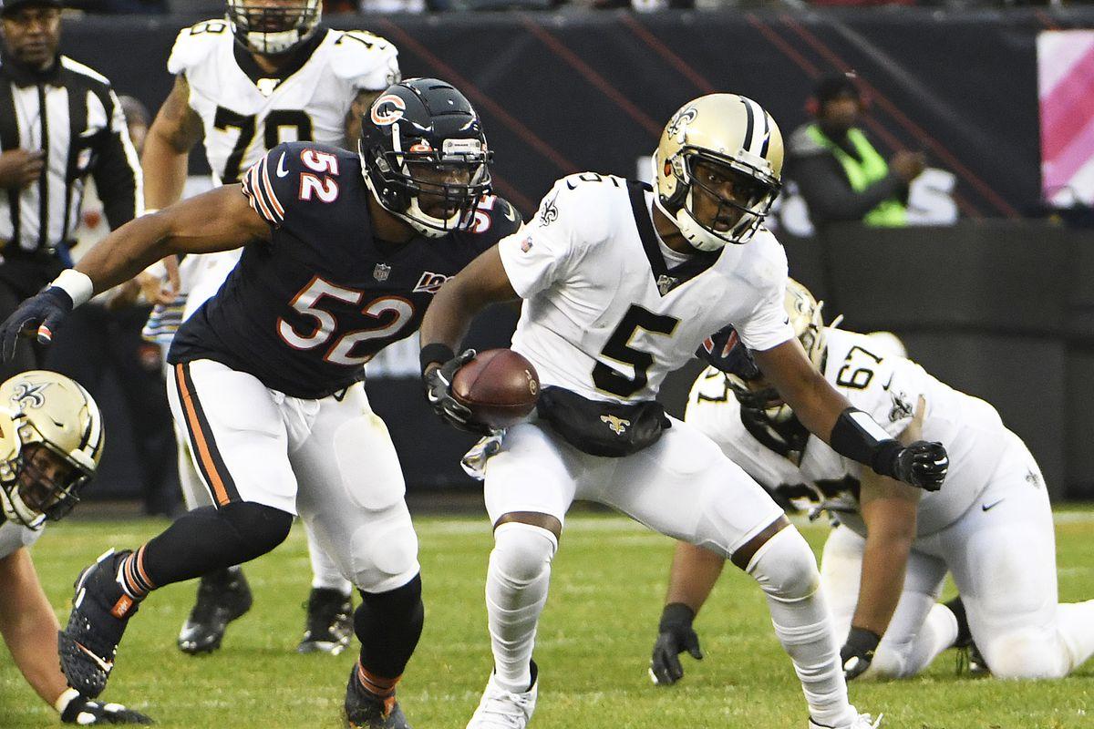Three takeaways from Bears' 36-25 loss to Saints in Week 7