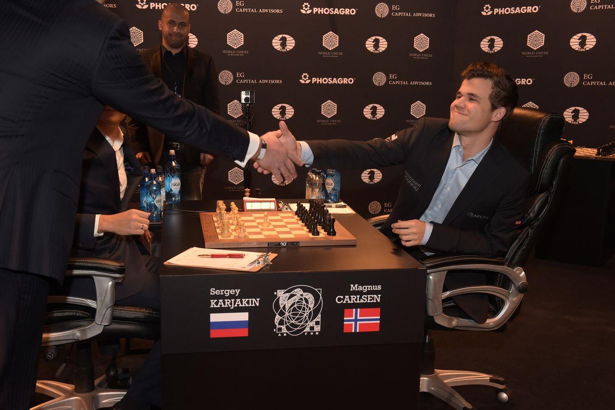 2016 World Chess Championship - November 12