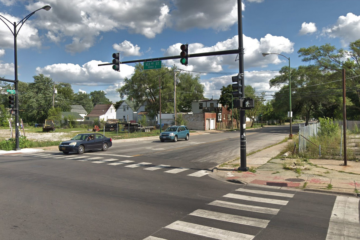A woman was shot during a robbery attempt Sept. 30, 2019, near 103rd and State streets.