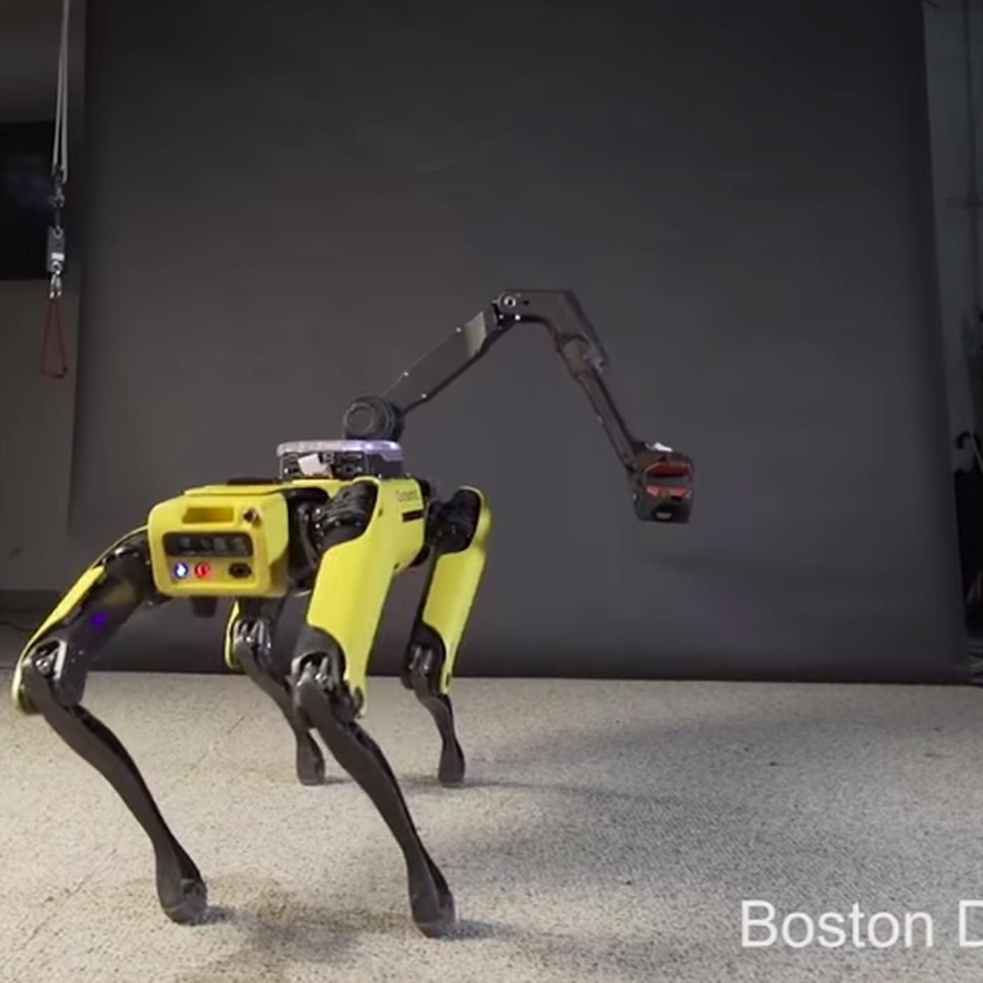 Boston Dynamics Four Legged Robot Can Now Do The Running Man The