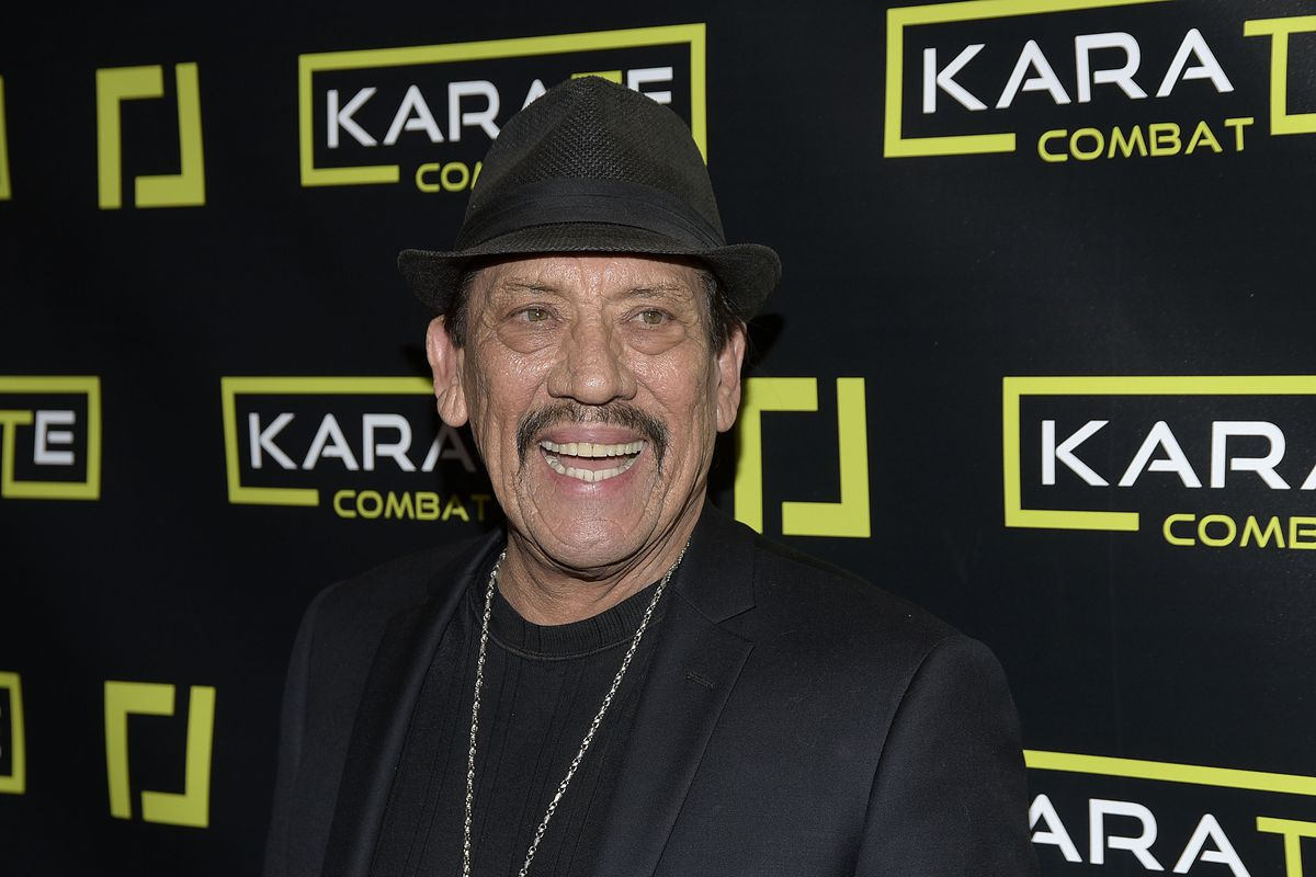 Danny Trejo attends the Karate Combat: Hollywood livestreaming karate competition at Avalon on January 24, 2019 in Hollywood, California.