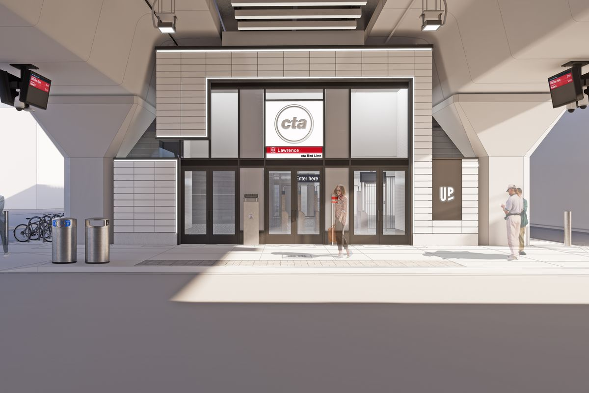 The new design for the Lawrence Station was revealed Jan. 28, 2021.