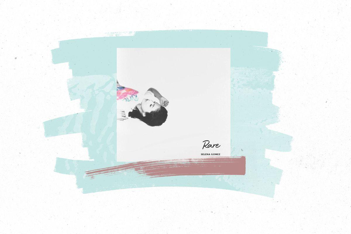 The cover of Selena Gomez's album Rare