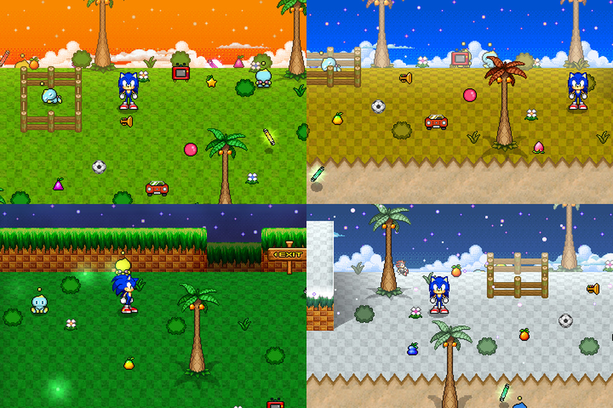 Sonic's greatest minigame becomes its own perfect spinoff