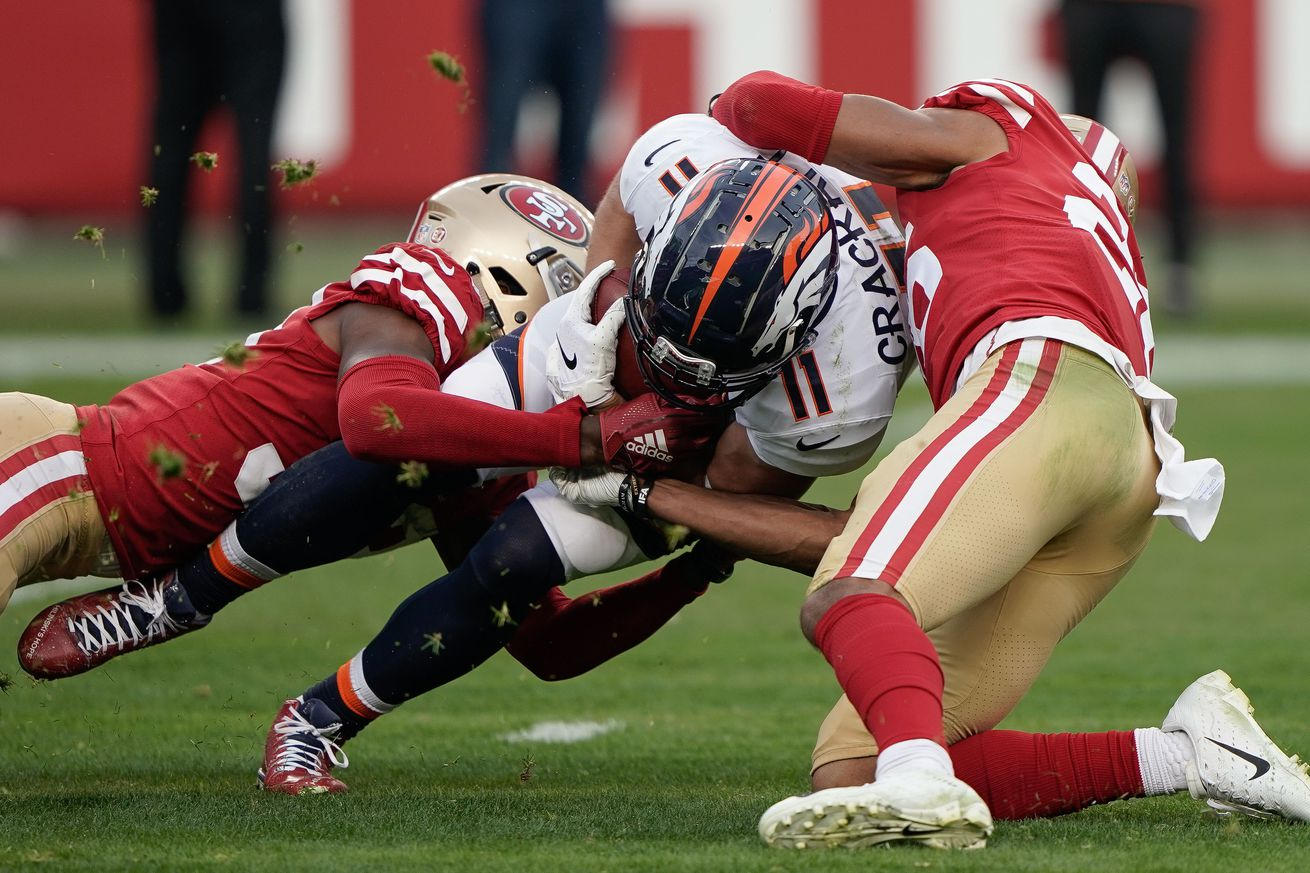 NFL: Denver Broncos at San Francisco 49ers