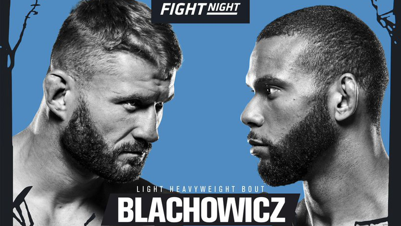 Pic: UFC Prague poster is blue and stuff