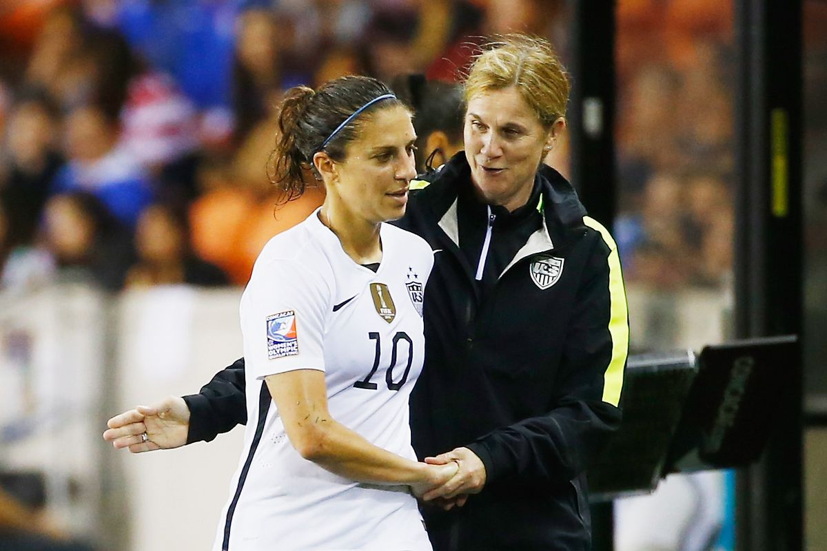 Delran, New Jersey native Carli Lloyd will lead the US against Colombia on April 10 at Talen Energy Stadium.