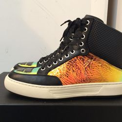 Alejandro Ingelmo Jeddi high top sneakers, $175.50 (were $585)
