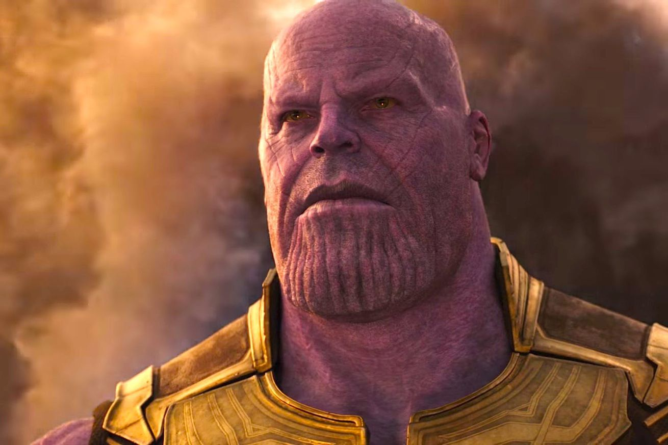 avengers infinity war s big bad thanos is getting his own origin story