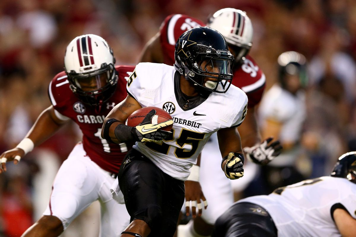 The Vandy running game struggled to find holes until Wesley Tate started calling shots from the wildcat formation.