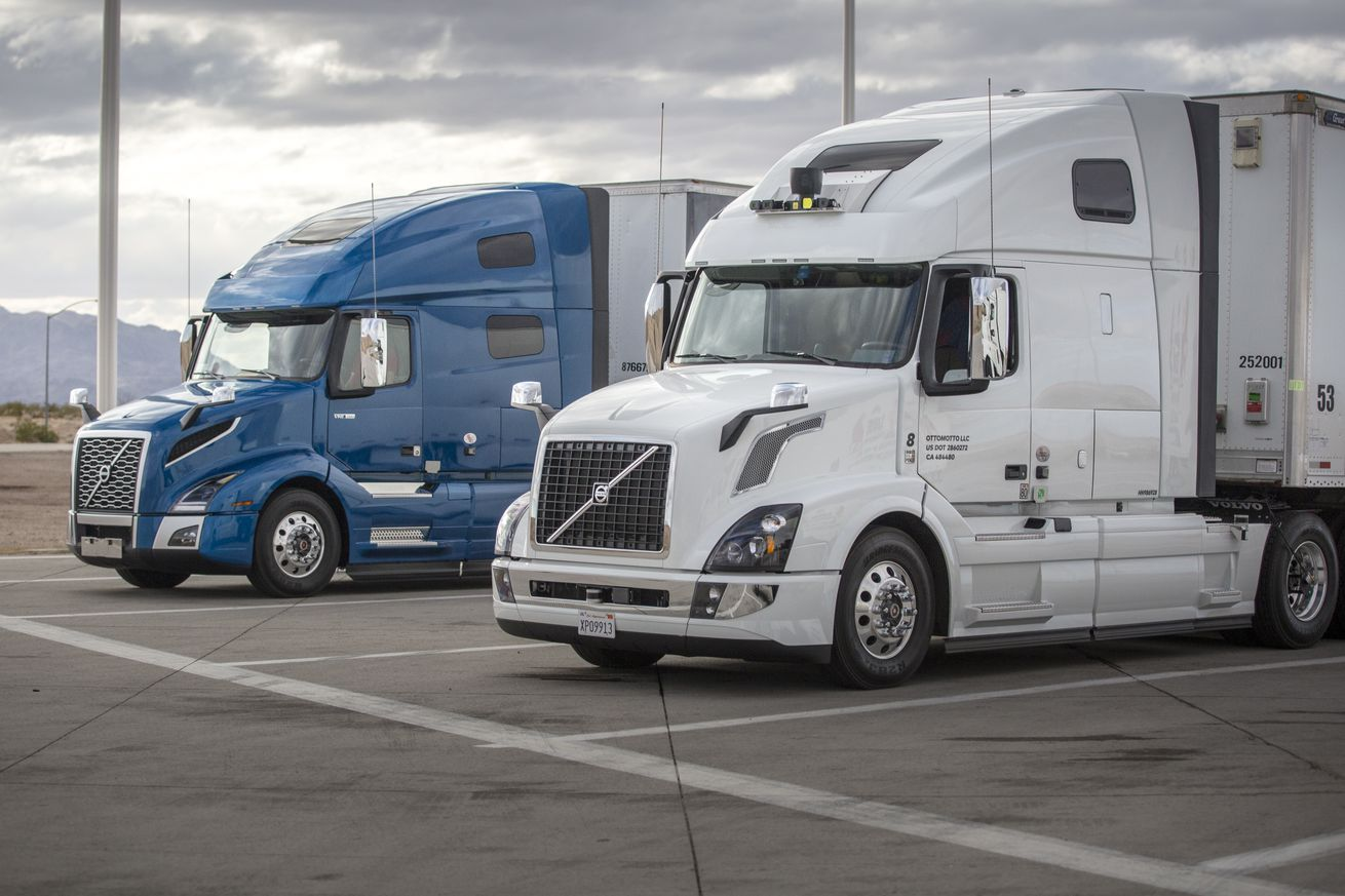 uber s self driving trucks are now delivering cargo in arizona