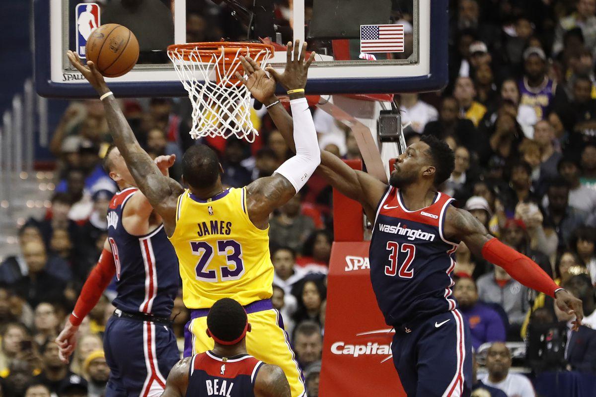 NBA: Los Angeles Lakers at Washington Wizards