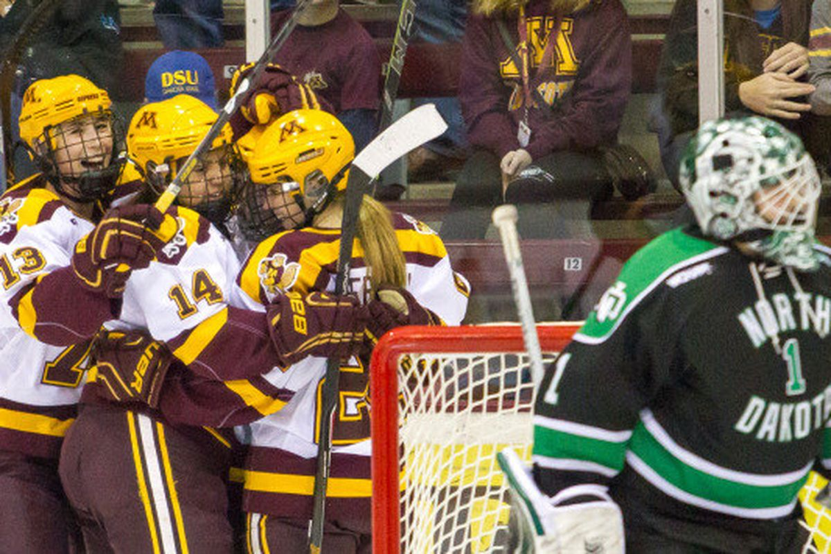 The Gophers are closing in on another WCHA Championship