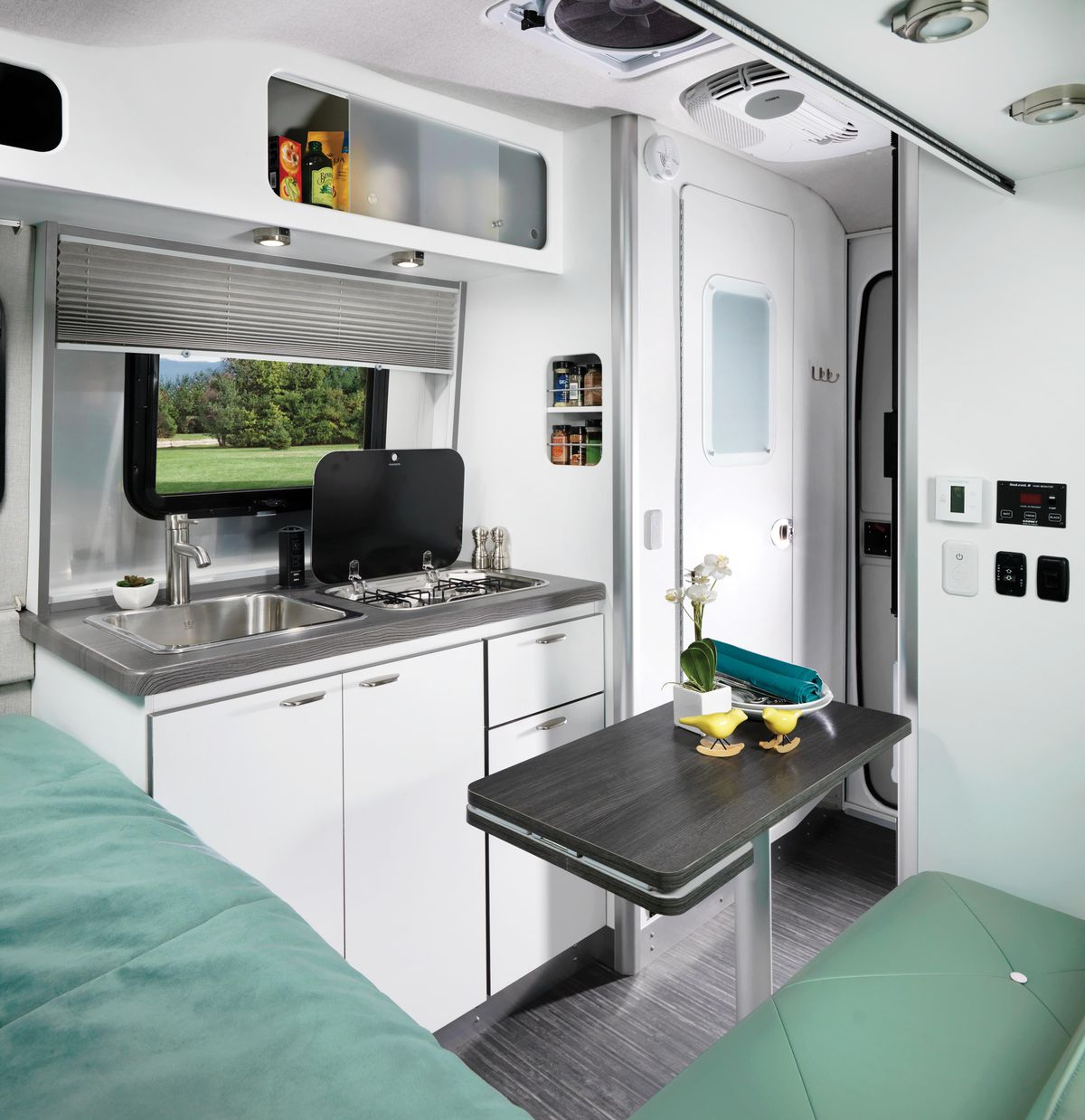 Airstream\'s new trailer, Nest, offers compact luxury for $45K - Curbed