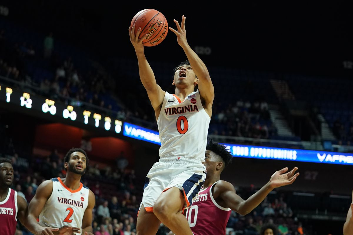 NCAA Basketball: Virginia at Massachusetts