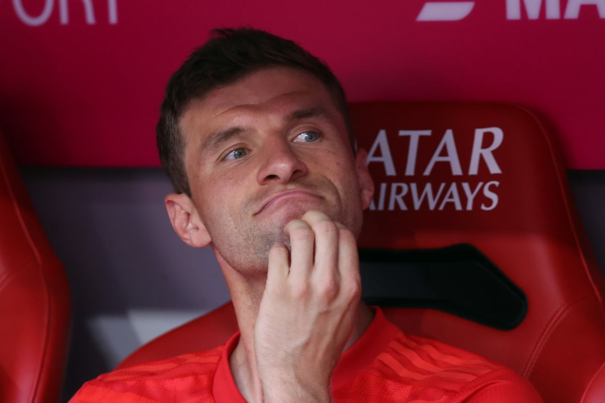 Image result for thomas Muller bench