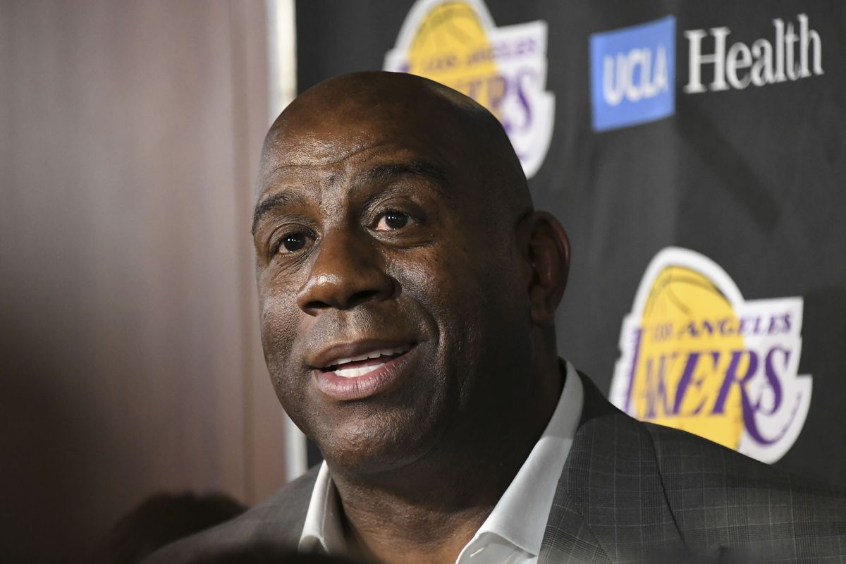 Magic Johnson admits that Lakers not re-signing Brook Lopez was