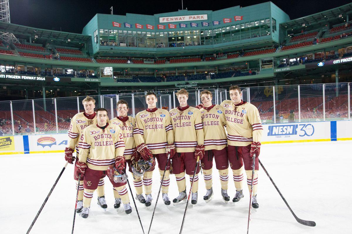 Frozen Fenway 2014: Notre Dame v Boston College