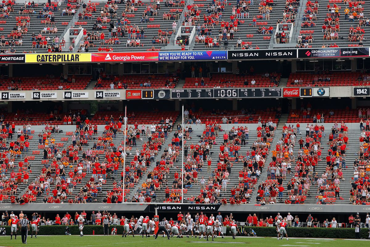 Stadiums should not yet be full capacity - Dawg Sports