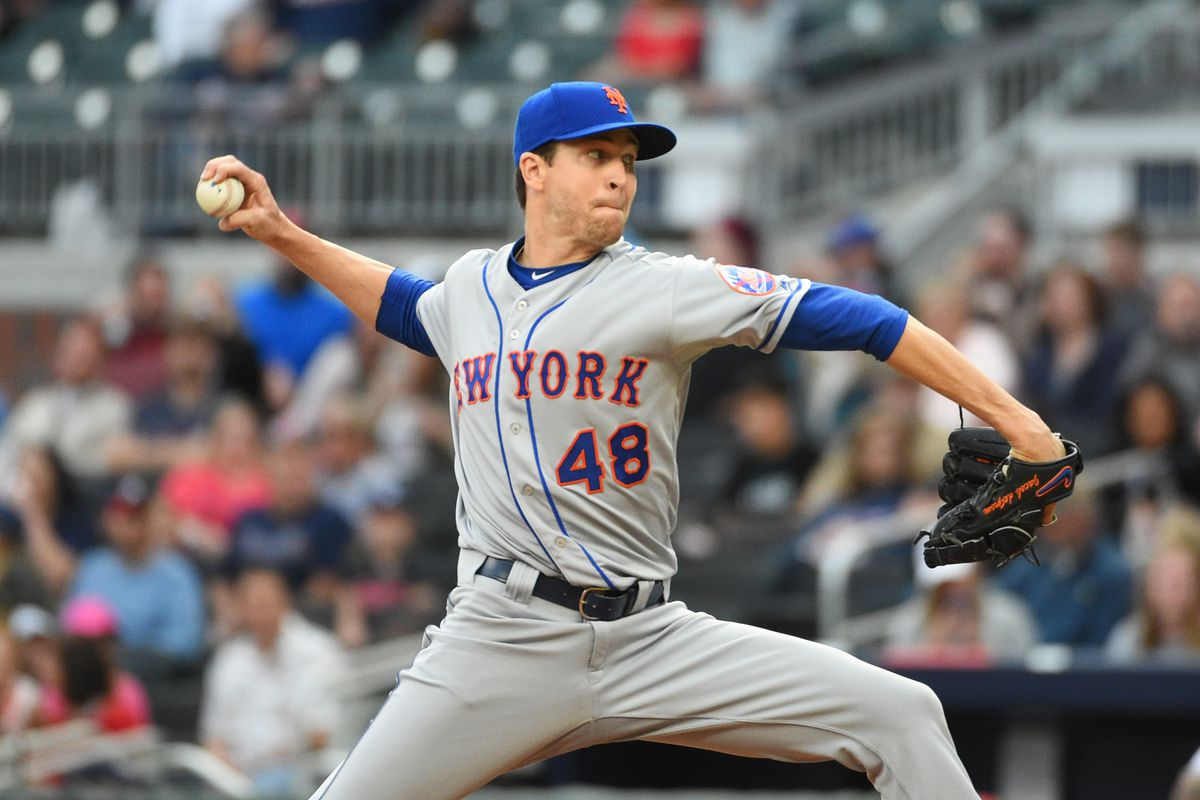 Jacob Anthony deGrom born June 19 1988 is an American professional baseball pitcher for the New York Mets of Major League Baseball MLB Prior to playing