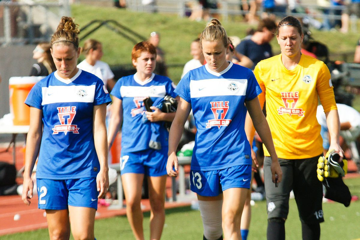 FC Kansas City was dejected after loss on Sunday