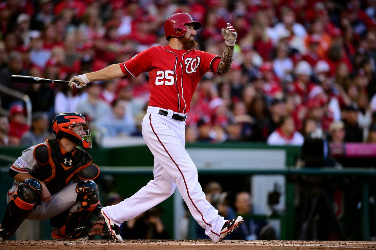 As we look towards 2015, the Nationals have some decisions to make.  Is it worthwhile to exercise Adam LaRoche's 2015 option?