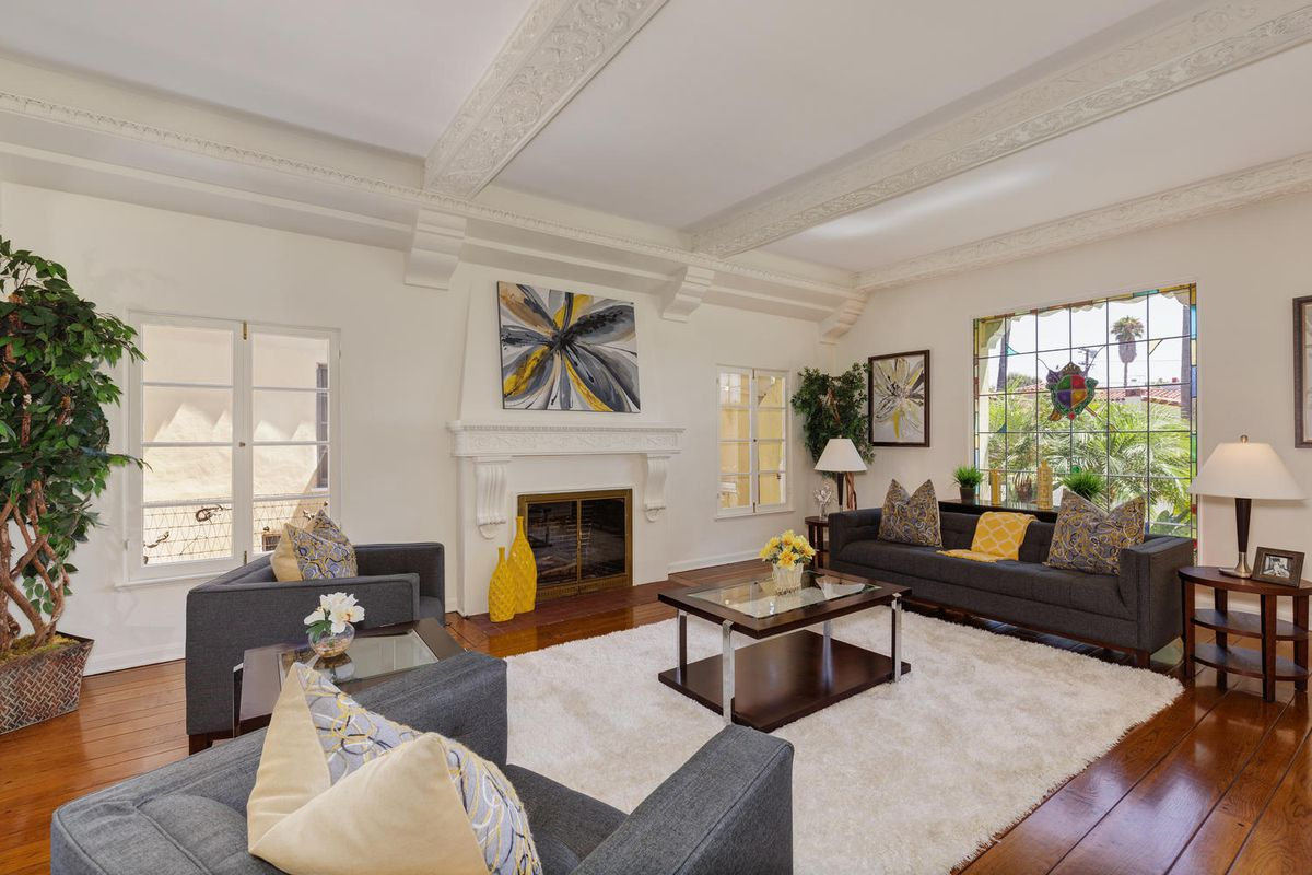 1930s spanish style in carthay asks 1 4m curbed la - 8 bedroom homes for sale in los angeles ...