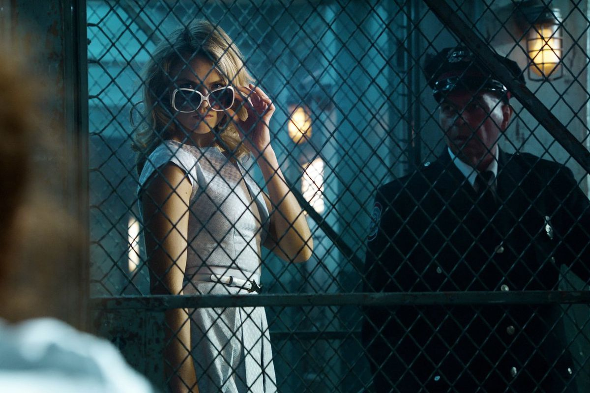 Barbara Kean (Erin Richards), official villainess.
